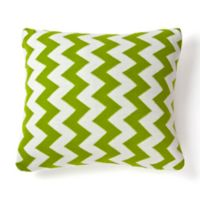 Amity Home Charlotte Square Throw Pillow in Green