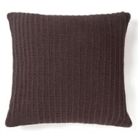 Amity Home Sammy Square Throw Pillow in Charcoal