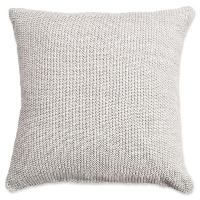 Amity Home Eddie Square Throw Pillow In Charcoal