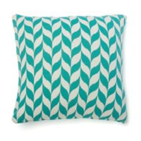 Amity Home Haley Square Throw Pillow in Teal