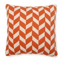 Amity Home Jolene Square Throw Pillow in Orange
