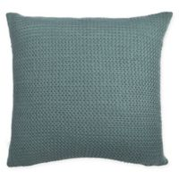 Amity Home Great Bay Home Square Indoor Darcy Throw Pillow in Teal