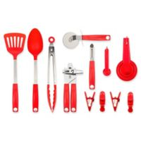 Core Kitchen 18-Piece Value Tool Set in Red
