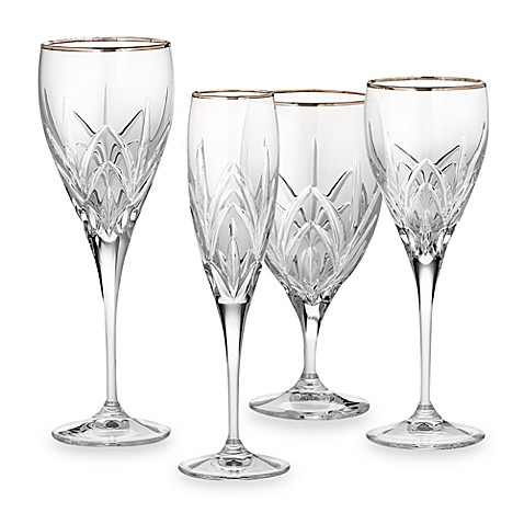 Marquis 174 By Waterford Platinum Caprice Crystal Stemware