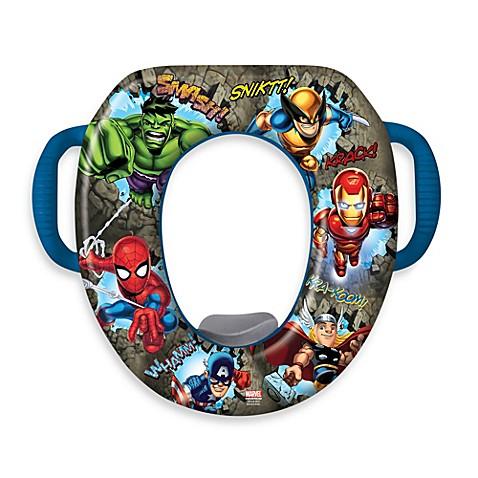 marvel comics soft potty seat
