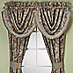 J. Queen New York™ Valdosta Aqua Waterfall Valance