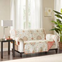 Madison Park Tissa Reversible Loveseat Protector