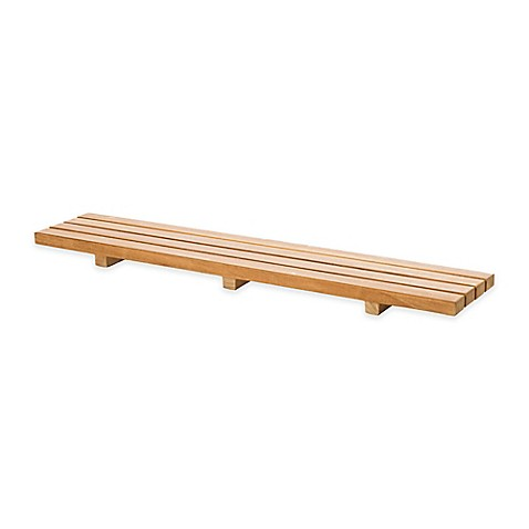 image of ARB Teak & Specialties Bathtub Seat Caddy in Natural