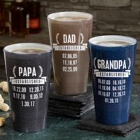 Date Established 16 oz. Pint Glass