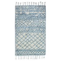 Dynamic Rugs Metro Boho Hand-Tufted 3' x 5' Area Rug in Blue