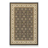 Oriental Weavers Masterpiece Classic Floral 3'10 x 5'5 Area Rug in Navy