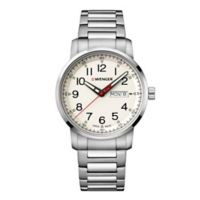 Wenger Attitude Heritage Men's 42mm Bracelet Watch in Stainless Steel