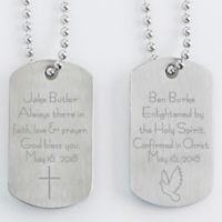 Confirmation Dog Tags (Set of 2)