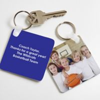 Picture Perfect Coach Keychain
