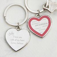 My Sweetheart Heart Keychain