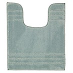 "American Craft 20"" x 24"" Contour Bath Rug in Aqua"