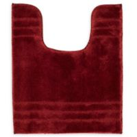 "American Craft 20"" x 24"" Contour Bath Rug in Crimson"