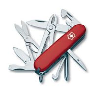 Victorinox Swiss Army Deluxe Tinker 17-Function Knife in Red