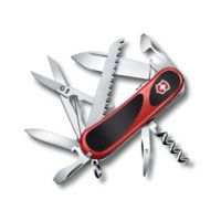 Victorinox Swiss Army Evolution Grip S17 15-Function Knife in Red/Black