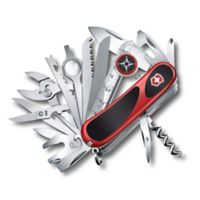 Victorinox Swiss Army Evolution Grip S54 31-Function Knife in Red/Black
