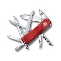 Victorinox Swiss Army Evolution Grip S17 15-Function Knife in Red