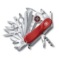 Victorinox Swiss Army Evolution Grip S54 31-Function Knife in Red