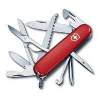 Victorinox Swiss Army Fieldmaster 15-Function Knife in Red