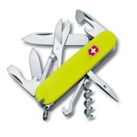Victorinox Swiss Army Climber 14-Function Knife in Neon Yellow