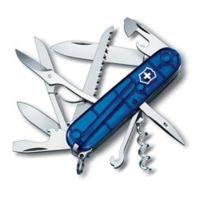 Victorinox Swiss Army Huntsman 15-Function Knife in Sapphire