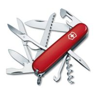 Victorinox Swiss Army Huntsman 15-Function Knife in Red