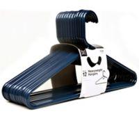 SALT™ 12-Pack Champion Heavyweight Hangers in Navy