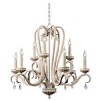 Kenroy Home Marcella 9-Light Chandelier in Gold