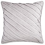 Audie Square Throw Pillow in Taupe