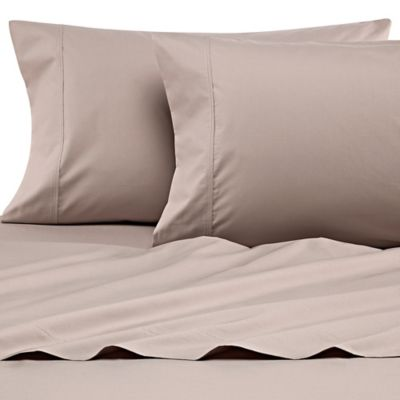 Heartland® HomeGrown™ 400 Thread Count Queen Percale Sheet Set In Clay