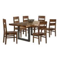 Hillsdale Furniture Emerson 7-Piece Dining Set in Natural