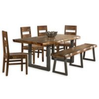 Hillsdale Furniture Emerson 6-Piece Dining Set in Natural