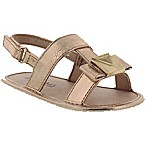 Michael Kors® Baby Sugar Newborn Infant Sandal in Rose Gold