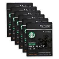 Starbucks® Verismo™ 72-Count Decaf Pike's Place® Brewed Coffee Pods