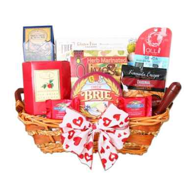 Gourmet gift baskets holiday gift baskets food gifts bed bath alder creek gluten free valentines day gift basket negle Image collections