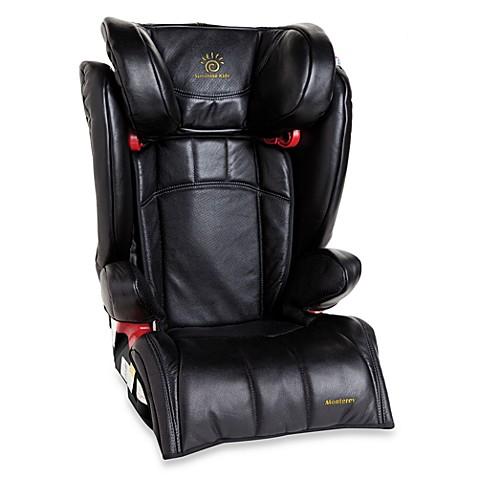 Sunshine Kids Monterey Booster Car Seat Black Leather