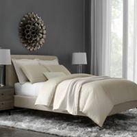 Flatiron® Hotel Satin Stitch Full/Queen Duvet Cover in Natural/White
