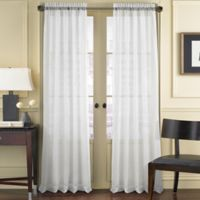 J. Queen New York™ Summit 63-Inch Rod Pocket Window Curtain Panel in White
