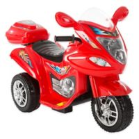 Lil' Rider 3-Wheel Ride-On Motorcycle in Red