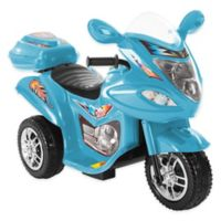 Lil' Rider 3-Wheel Ride-On Motorcycle in Blue