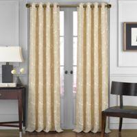 J. Queen New York Aster 95-Inch Grommet Top Window Curtain Panel in Natural