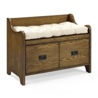 Crosley Fremont Entryway Bench in Coffee