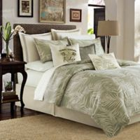 Tommy Bahama® Palms Away Reversible King Duvet Cover Set in Sage