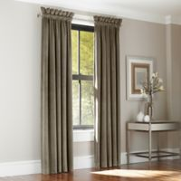J. Queen New York™ Manchester 95-Inch Rod Pocket Window Curtain Panel Pair in Taupe