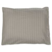 True Stuff Tiles Standard Pillow Sham in Grey