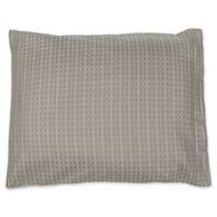 True Stuff Tiles King Pillow Sham in Grey
